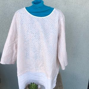 Lace Chico's Top